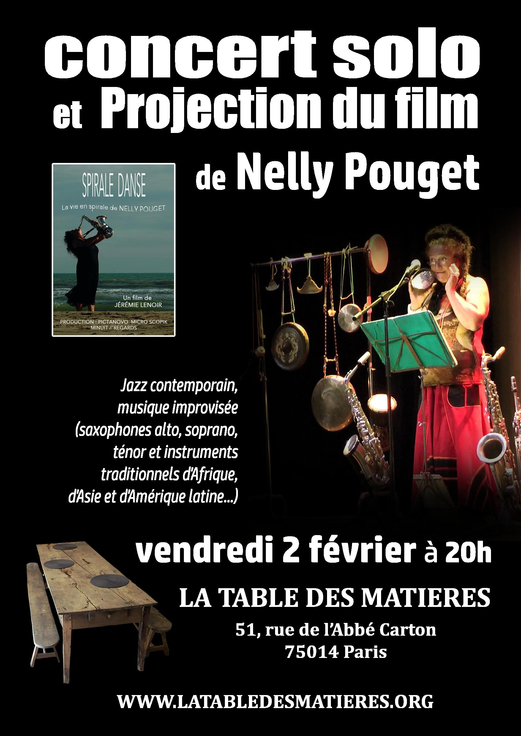 rencontre avec nelly pouget projection du film spirale danse et concert la table des mati res. Black Bedroom Furniture Sets. Home Design Ideas