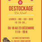 Destockage, vente livres, cd, dvd à petit prix