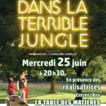 affiche projection Dans la terrible jungle